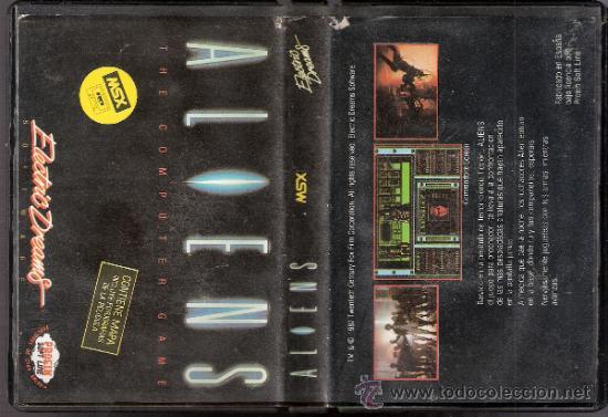 Videojuegos y Consolas: Aliens. Electric Dreams.Contiene mapa. 1987. - Foto 2 - 34249851