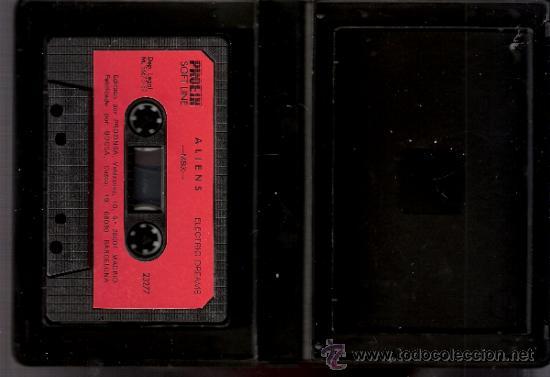 Videojuegos y Consolas: Aliens. Electric Dreams.Contiene mapa. 1987. - Foto 4 - 34249851