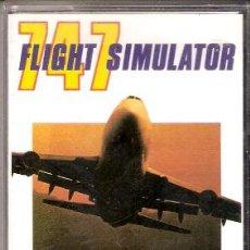 Videojuegos y Consolas: 747 FLIGHT SIMULATOR. MSX. SYSTEM 4. 1988. INCLUYE INSTRUCCIONES.. Lote 34493775