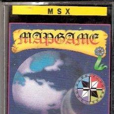 Videojuegos y Consolas: MAPGAME. MSX. ERBE SOFTWARE.1986.. Lote 34494096