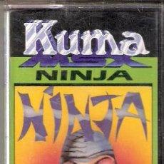 Videojuegos y Consolas: NINJA. KUMA COMPUTERS LTD.,. MSX. 1984.. Lote 34494256