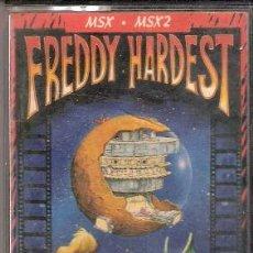 Videojuegos y Consolas: FREDDY HARDEST. MSX - MSX2. FX DOBLE CARGA. DINAMIC SOFTWARE. 1987.. Lote 34494353