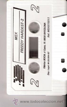 Videojuegos y Consolas: Freddy Hardest. MSX - MSX2. FX doble carga. Dinamic Software. 1987. - Foto 3 - 34494353