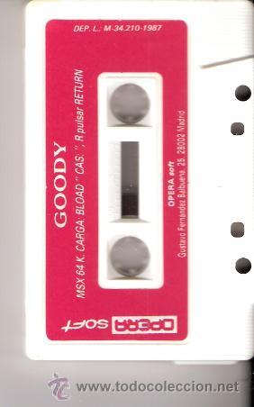 Videojuegos y Consolas: Goody. MSX. Opera Soft. Asalto a la gran banca.1987. - Foto 2 - 34493851