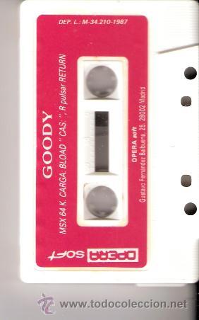 Videojuegos y Consolas: Goody. MSX. Opera Soft. Asalto a la gran banca.1987. - Foto 3 - 34493851