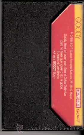 Videojuegos y Consolas: Goody. MSX. Opera Soft. Asalto a la gran banca.1987. - Foto 4 - 34493851