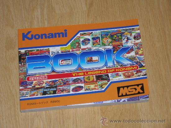 MSX MSX2 LIBRO A TODO COLOR 236 PAG. BOOK HISTORIA DE KONAMI VAMPIRE KILLER METAL GEAR ETC... NUEVO (Juguetes - Videojuegos y Consolas - Msx)