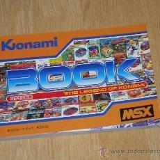 Videojuegos y Consolas: MSX MSX2 LIBRO A TODO COLOR 236 PAG. BOOK HISTORIA DE KONAMI METAL GEAR ETC... NUEVO. Lote 189581713
