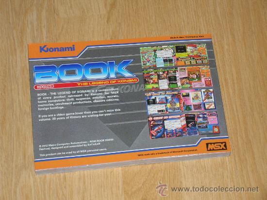 Videojuegos y Consolas: MSX MSX2 Libro a Todo Color 236 Pag. BOOK Historia de KONAMI Vampire Killer METAL GEAR etc... NUEVO - Foto 24 - 256100375