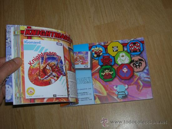 Videojuegos y Consolas: MSX MSX2 Libro a Todo Color 236 Pag. BOOK Historia de KONAMI Vampire Killer METAL GEAR etc... NUEVO - Foto 9 - 256100375