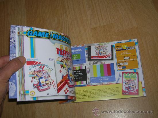 Videojuegos y Consolas: MSX MSX2 Libro a Todo Color 236 Pag. BOOK Historia de KONAMI Vampire Killer METAL GEAR etc... NUEVO - Foto 8 - 256100375