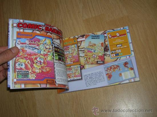 Videojuegos y Consolas: MSX MSX2 Libro a Todo Color 236 Pag. BOOK Historia de KONAMI Vampire Killer METAL GEAR etc... NUEVO - Foto 5 - 256100375