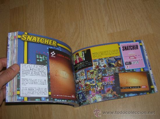 Videojuegos y Consolas: MSX MSX2 Libro a Todo Color 236 Pag. BOOK Historia de KONAMI Vampire Killer METAL GEAR etc... NUEVO - Foto 4 - 256100375