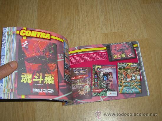 Videojuegos y Consolas: MSX MSX2 Libro a Todo Color 236 Pag. BOOK Historia de KONAMI Vampire Killer METAL GEAR etc... NUEVO - Foto 27 - 256100375