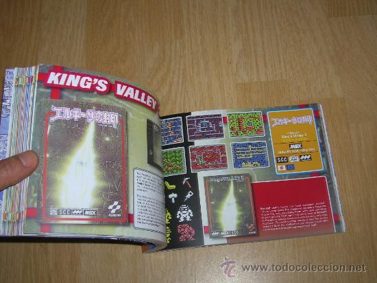 Videojuegos y Consolas: MSX MSX2 Libro a Todo Color 236 Pag. BOOK Historia de KONAMI Vampire Killer METAL GEAR etc... NUEVO - Foto 26 - 256100375