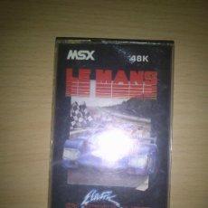 Videojuegos y Consolas: VIDEOJUEGO LE MANS PARA MSX - CASSETTE. Lote 35056765