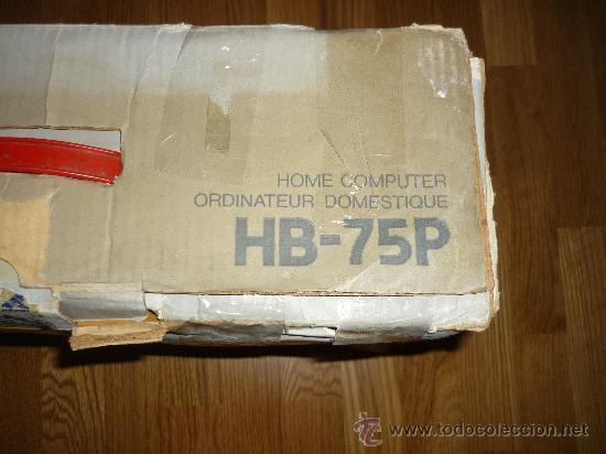 Videojuegos y Consolas: ORDENADOR SONY HIT BIT MSX HB 75P EN CAJA - Foto 4 - 72879637