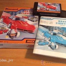 Videojuegos y Consolas: ROAD FIGHTER KONAMI JUEGO PARA MSX COMPLETO . Lote 36520861