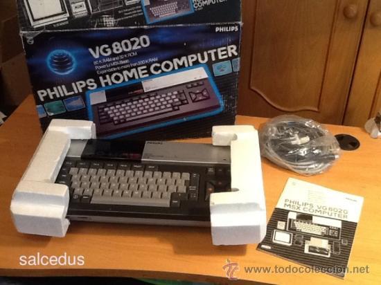 ORDENADOR CONSOLA MSX PHILIPS VG8020 VG 8020 COMPLETO CON CAJA E INSTRUCCIONES (Juguetes - Videojuegos y Consolas - Msx)