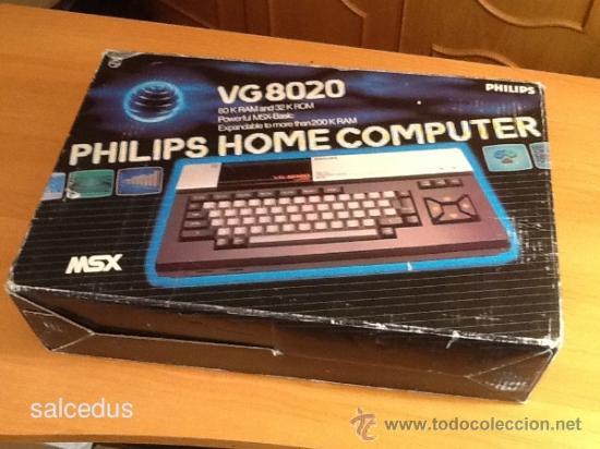 Videojuegos y Consolas: Ordenador Consola MSX Philips VG8020 VG 8020 Completo con Caja e Instrucciones - Foto 5 - 37482163