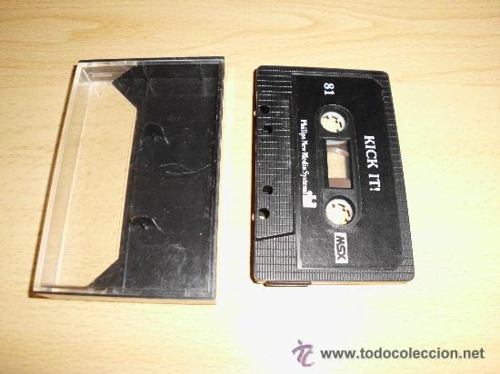 JUEGO DE CONSOLA MSX KICK IT (Juguetes - Videojuegos y Consolas - Msx)