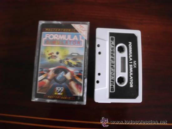 JUEGO DE ORDENADOR FORMULA 1 SIMULATOR MSX (Juguetes - Videojuegos y Consolas - Msx)