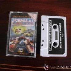 Videojuegos y Consolas: JUEGO DE ORDENADOR FORMULA 1 SIMULATOR MSX. Lote 37567023