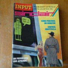 Videojuegos y Consolas: MSX , SPECTRUM 48 K , AMSTRAD, IMPUT SINCLAIR REVISTA AÑO 1 NUMERO 9 . Lote 38202094
