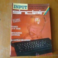 Videojuegos y Consolas: MSX , SPECTRUM 48 K , AMSTRAD, IMPUT SINCLAIR REVISTA AÑO 1 NUMERO 6. Lote 38202106