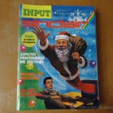 Videojuegos y Consolas: MSX , SPECTRUM 48 K , AMSTRAD, IMPUT SINCLAIR REVISTA AÑO 1 NUMERO 4. Lote 38202115