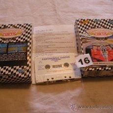 Videojuegos y Consolas: ANTIGUO JUEGO MSX CONTINENTAL CIRCUS - FORMULA 1 - ENVIO GRATIS A ESPAÑA . Lote 39193800