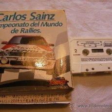 Videojuegos y Consolas: ANTIGUO JUEGO MSX CAMPEONATO DEL MUNDO DE RALLIES - CARLOS SAINZ - ENVIO GRATIS A ESPAÑA - CAJA 16. Lote 39193831