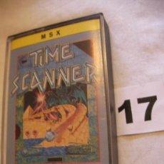 Videojuegos y Consolas: ANTIGUO JUEGO MSX TIME SCANNER - ENVIO GRATIS A ESPAÑA . Lote 39251098