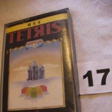 Videojuegos y Consolas: ANTIGUO JUEGO MSX TETRIS - ENVIO GRATIS A ESPAÑA . Lote 39251106