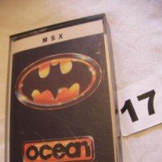 Videojuegos y Consolas: ANTIGUO JUEGO MSX OCEAN BATMAN - ENVIO GRATIS A ESPAÑA . Lote 39251113