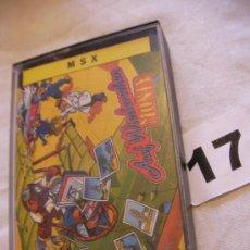 Videojuegos y Consolas: ANTIGUO JUEGO MSX AUF WIEDERSEHEN MONTY - ENVIO GRATIS A ESPAÑA . Lote 39251134
