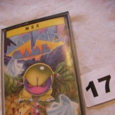Videojuegos y Consolas: ANTIGUO JUEGO MSX MAD MIX GAME. Lote 39251165