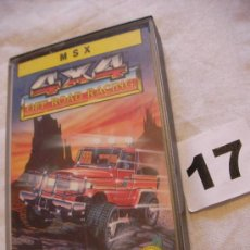 Videojuegos y Consolas: ANTIGUO JUEGO MSX 4X4 OFF ROAD RACING - ENVIO GRATIS A ESPAÑA . Lote 39251184
