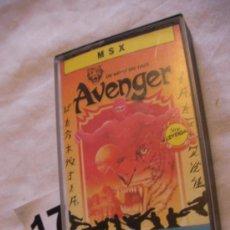 Videojuegos y Consolas: ANTIGUO JUEGO MSX AVENGER. Lote 39251238