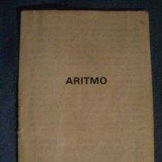 Videojuegos y Consolas: JUEGO - ARITMO. INSTRUCCIONES DEL PROGRAMA PARA ORDENADORES MSX (1985). LIBRETO 8 PÁG.. Lote 39864979