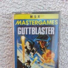 Videojuegos y Consolas: GUTTBLASTER - CINTA CASETE JUEGO MSX - PRECINTADA. Lote 40400808