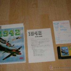 Videojuegos y Consolas: 1942 COMPLETO MSX MSX2 CAPCOM COMO NUEVO. Lote 51034346