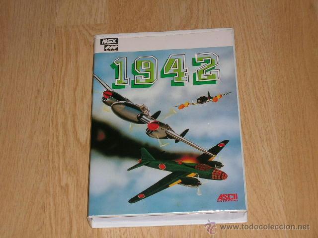Videojuegos y Consolas: 1942 Completo MSX MSX2 Capcom como NUEVO - Foto 2 - 51034346