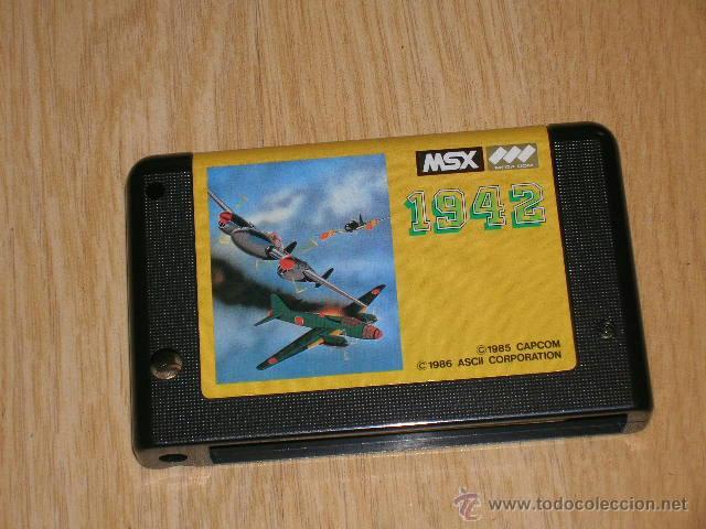 Videojuegos y Consolas: 1942 Completo MSX MSX2 Capcom como NUEVO - Foto 4 - 51034346