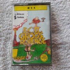 Jeux Vidéo et Consoles: B.C. II GROG'S REVENGE - CINTA CASETE JUEGO MSX - PRECINTADA. Lote 43923960