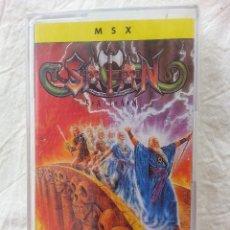 Videojuegos y Consolas: SATAN - CINTA CASETE JUEGO MSX - PRECINTADA. Lote 44820960