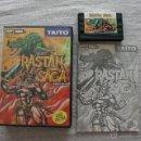 Videojuegos y Consolas: RASTAN SAGA MSX JAP COMPLETO. Lote 45189430