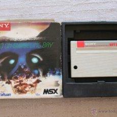 Videojuegos y Consolas: RAID ON BUNGELIN BAY MSX SONY. Lote 45209697