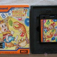 Videojuegos y Consolas: MONKEY ACADEMY MSX KONAMI CON CAJA. Lote 45209759