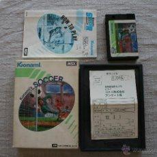 Videojuegos y Consolas: KONAMI'S SOCCER MSX COMPLETO. Lote 45209771